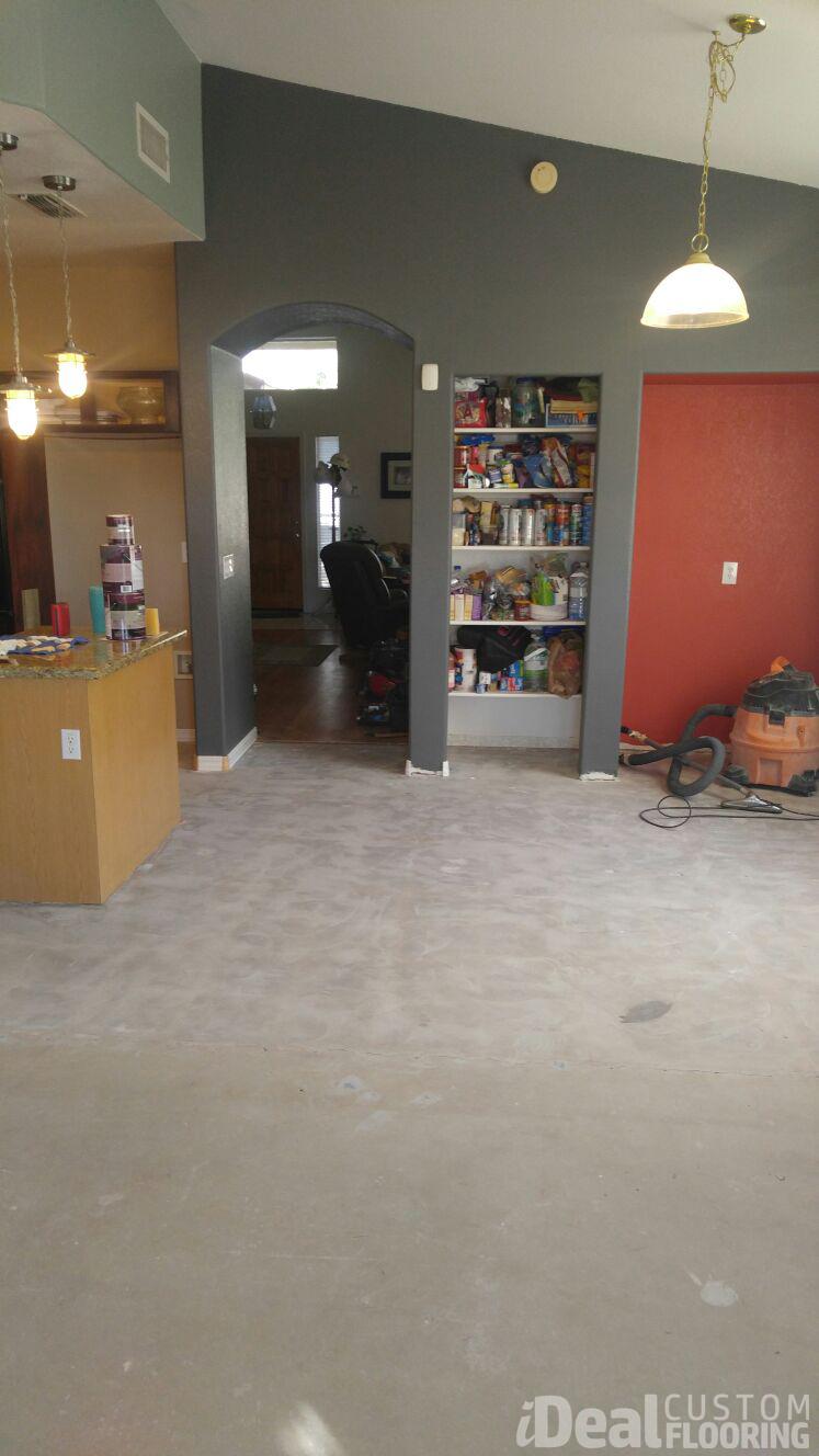 Vinyl Floor Installation Gallery